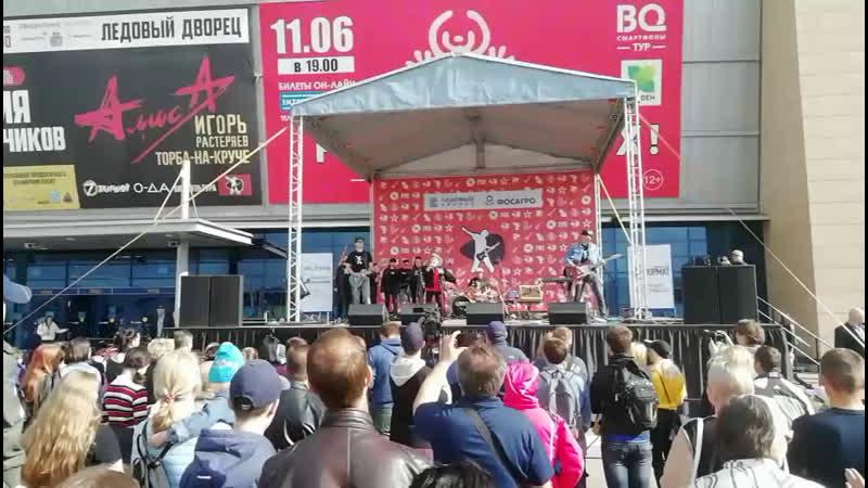 Череповец. Детский рок-фестиваль, посвященный Дню химика и Дню защиты детей.