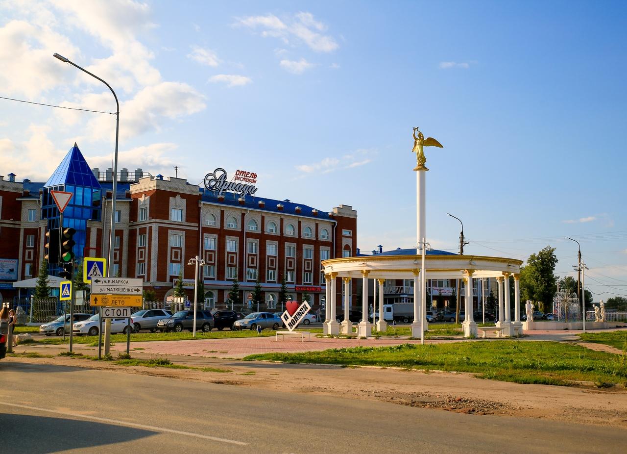 Городу на левом берегу Волги 80 лет