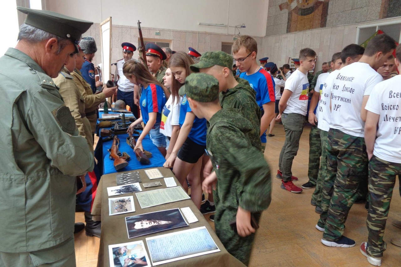 Недалеко от Таганрога состоялся второй слет казачьих поисковых отрядов