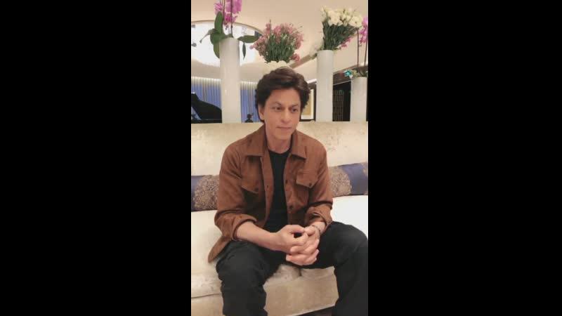 Hi_IndianCinema印度电影-一直播 ShahRukhKhan @iamsrk live chat with fans HiIndianFilm BJIFF2019 Beijing Link :- m.yizhibo