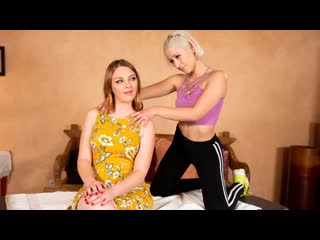 Marie McCray, Goldie Glock - Tricking My New Step-Mom (MILF, Pussy Licking, Blonde, Lesbian, Natural Tits, Massage, Redhead)
