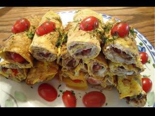 Ленивая бризоль-  можно готовить хоть на завтрак, хоть на обед или ужин.