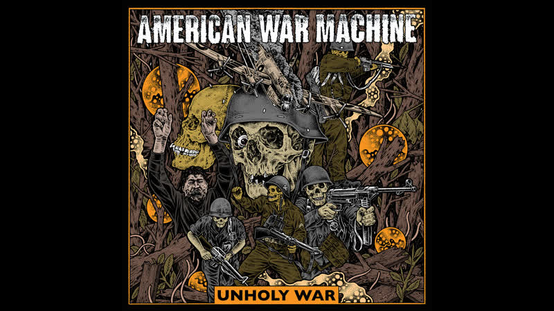 American War Machine - Calcified Eye
