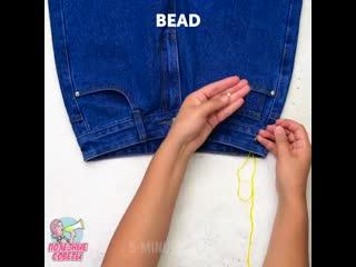 идеи с джинсами