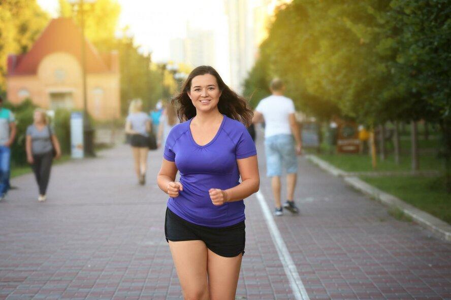 Бег трусцой сбросить вес