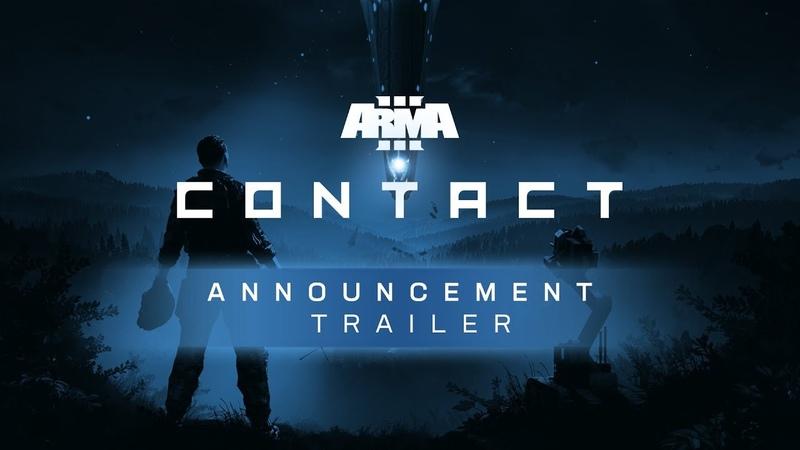 Arma 3 Contact - Announcement Trailer