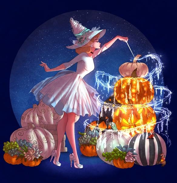 Что с тобой, дитя мое Поздний октябрь пах так же пряно, как ранний август, но не цветами и зеленью, а тыквами, влажной землёй, палой листвой и смертью. Поздним октябрём бедной Золушке
