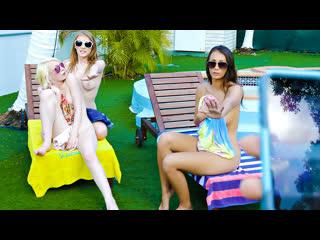 [BFFS] Melody Marks, Lilo Mai, Alice Pink - Beach House bums NewPorn2019