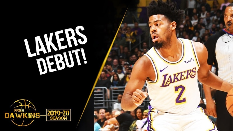 Quinn Cook Lakers DEBUT 2019.10.16 vs Warriors - 16 Pts,3 Asts! | FreeDawkins