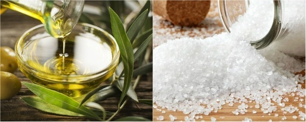 Соль и масло против остеохондроза.