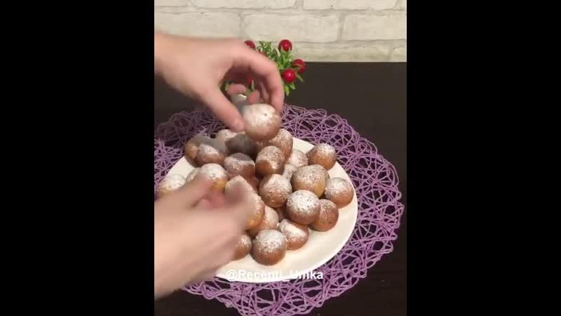 Творожные шарики или пончики ❓