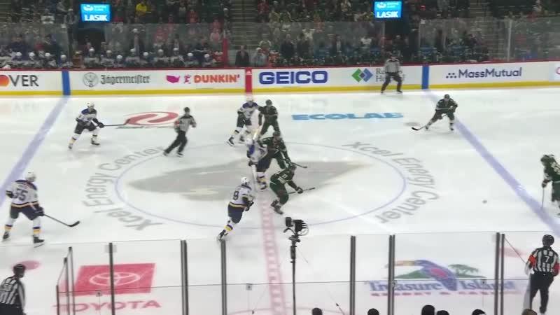 NHL Highlights _ St. Louis Blues vs. Minnesota Wild - Feb. 23, 2020