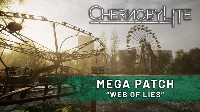 Visit Pripyat Center in Chernobylite Web of lies Mega Patch is live GAMEPLAY TRAILER
