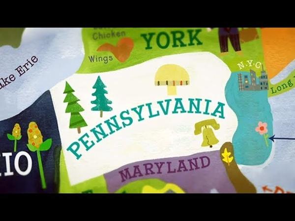 Филадельфия Америка Большое путешествие №1