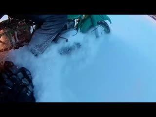Мотоцикл урал на гусеницах
