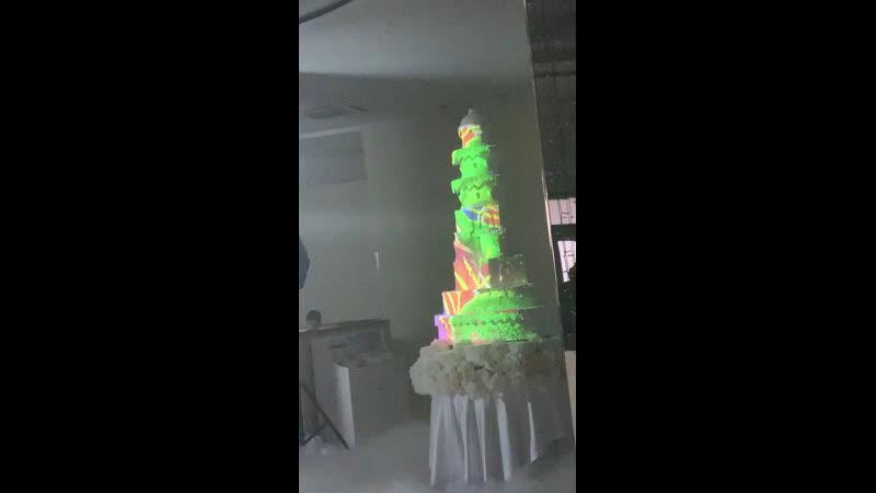 Свадебный торт для молодых❤️🥰сладкой жизни вам , мои дорогие