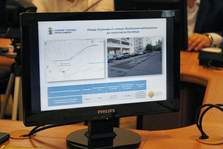 Стал известен предварительный список дорог Ярославля, которые отремонтируют в 2020 году
