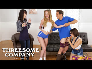 Alana Cruise, Daisy Stone, Krissy Lynn - Threesome Company Lovers And Friends  XXX Parody Brazzers Porn Порно