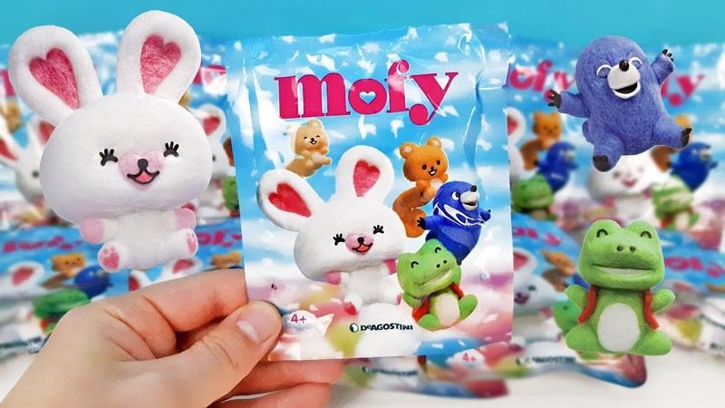 Сюрпризы в пакетиках MOFY от DeAgostini! Бархатные игрушки по мультику МОФИ Surprise unboxing