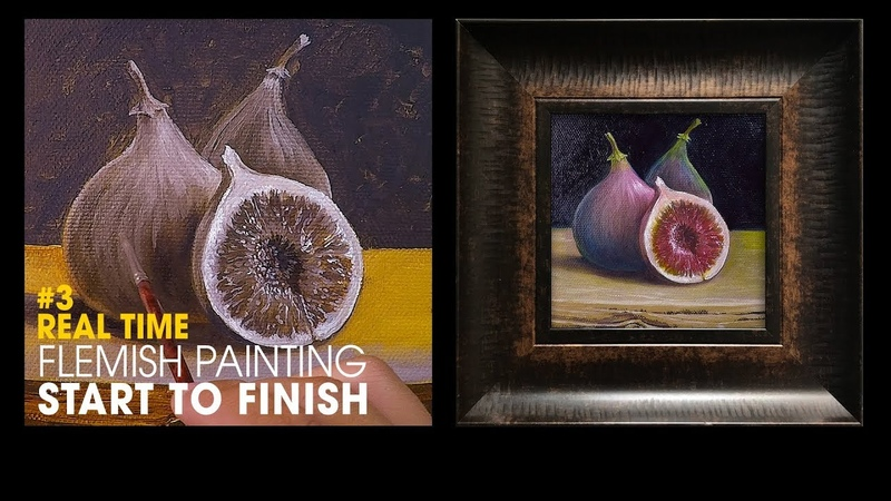 Oil Painting Techniques - Old master inspired 3 - never been easier