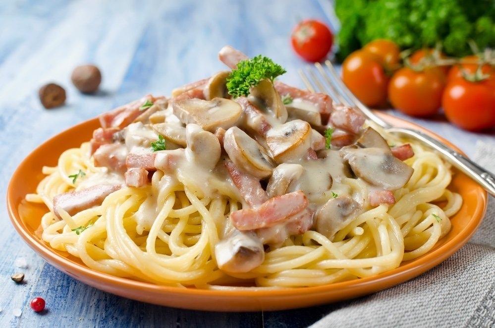 Готовим спагетти: 4 лучших рецепта 1. Спагетти с...