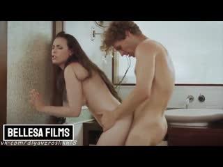 Casey Calvert - Bellesa Films MILF's fucked in bathroom (2020) [Blowjob, Big ass, Cuckold, Creampie, Cosplay]