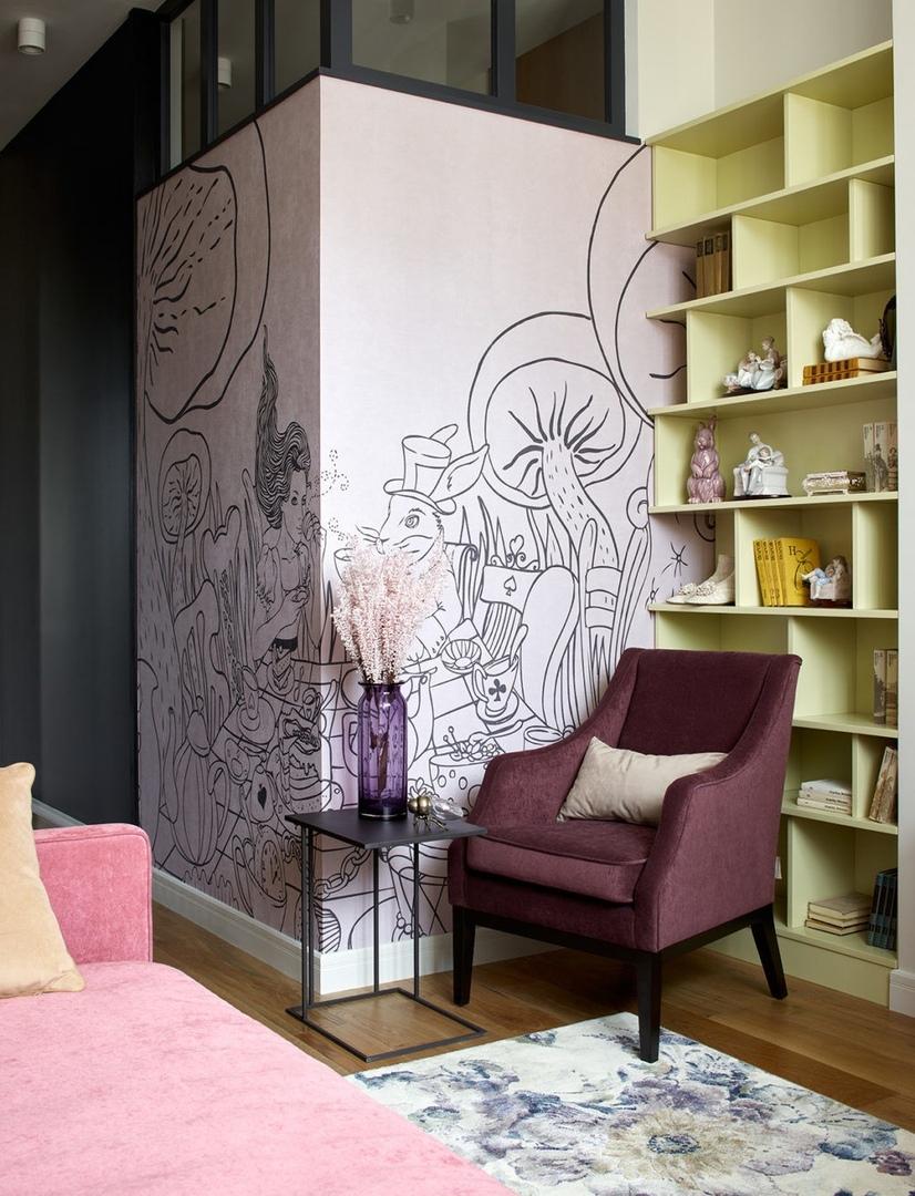 Квартира в Алма-Ате по проекту Яны Малыгиной, 300 м² || 02