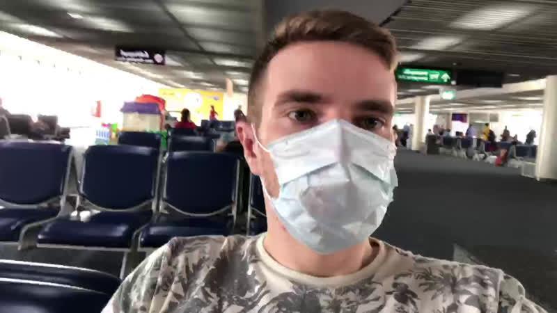 Коронавирус 🙀😿 🤖Bangkok 🙀 аэропорт