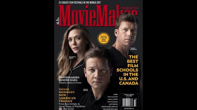 Фотосессия для августовского номера журнала «MovieMaker».