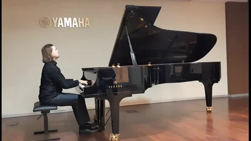 J. S. Bach - F. Busoni. Chaconne D minor BWV 1004 ( Petr Averin, piano) И. С. Бах - Ф. Бузони. Чакона ре минор