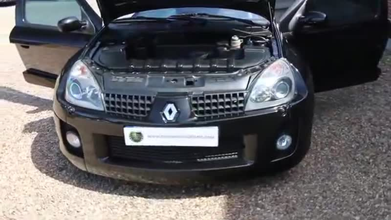 Renault Clio 3 0 V6 6 Speed Manual finished in Black Gold with V6 Quicksilver Ex