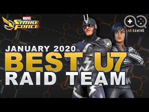 Best Ultimus 7 Raid Team Jan 2020 update Marvel Strike Force Chewtorial