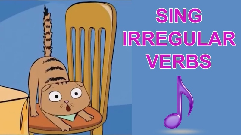 SING Irregular Verbs ENGLISH FOR CHILDREN