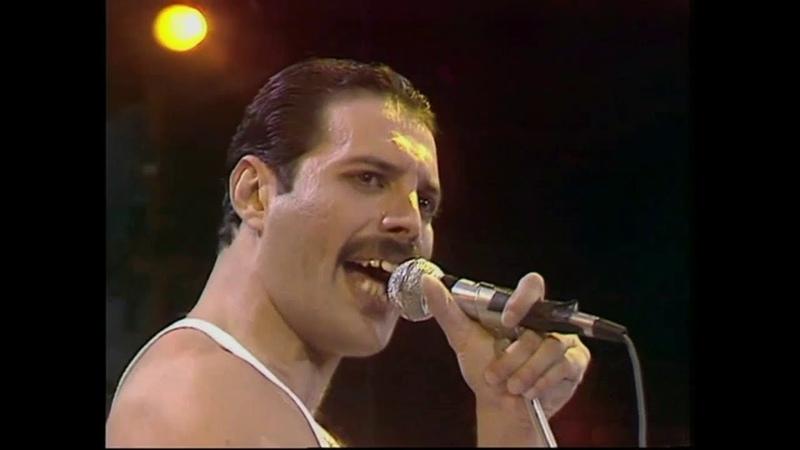 Queen Live Aid Wembley Stadium 13 luglio 1985