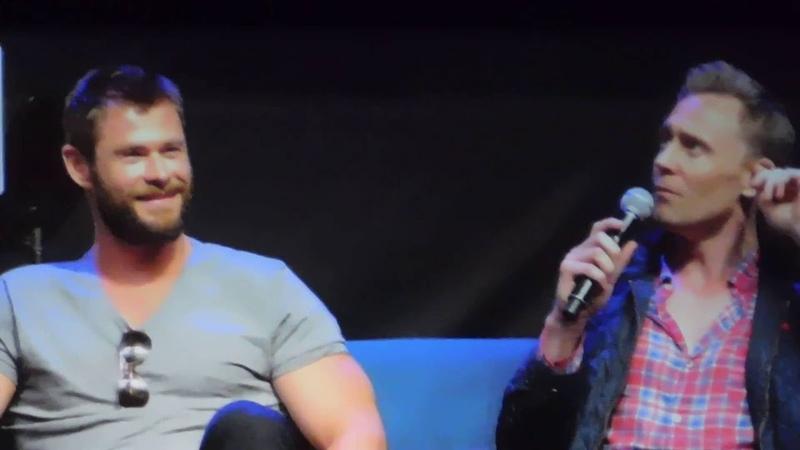 Favorite Shakespeare character Chris Hemsworth would be Tom Hiddleston's Romeo