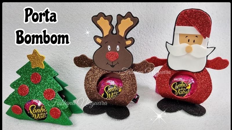 IDÉIA para o Natal Porta Bombom 🎅🎄🦌