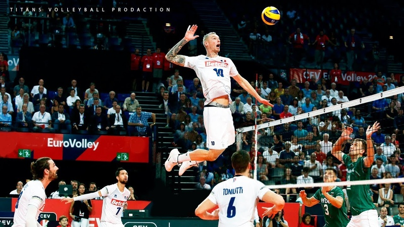 TOP 20 Legendary Men's Volleyball Spikes Of All Time ᴴᴰ