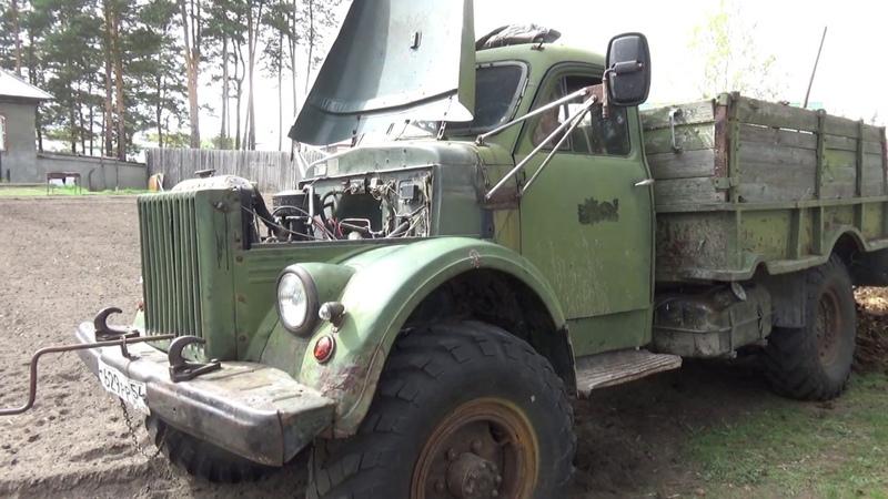 ГАЗ -63 крякнул.
