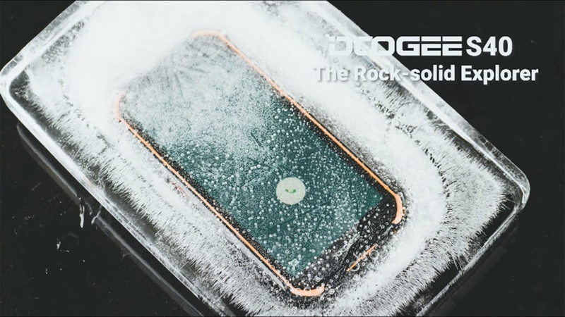 DOOGEE S40 = Nutcracker IP68 Violence Tests Nothing to Fear
