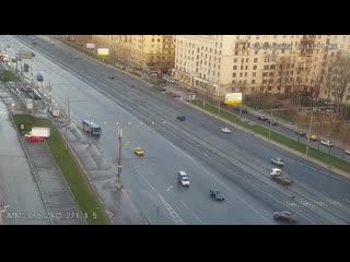 Смертельная авария на Кутузовском проспекте | видео