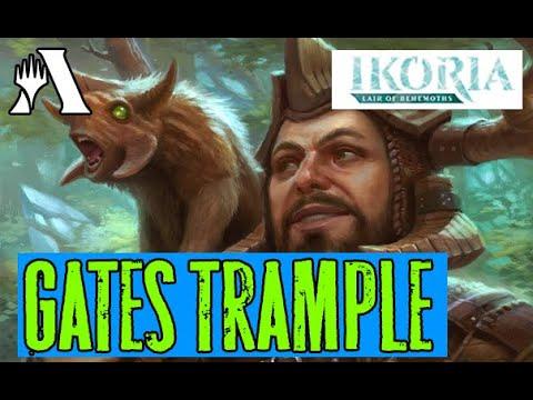 NONBudget Trample Gates в Стандарте MTG Arena IKORIA Standarrd DECK Guide