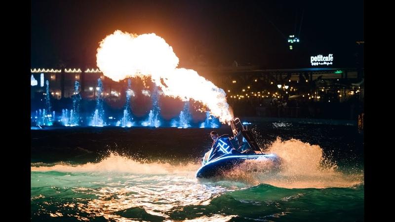 ✨ВОДНОЕ ШОУ Hydro Circus 🔥 Fire and Pyro SHOW Riyadh Season Festival