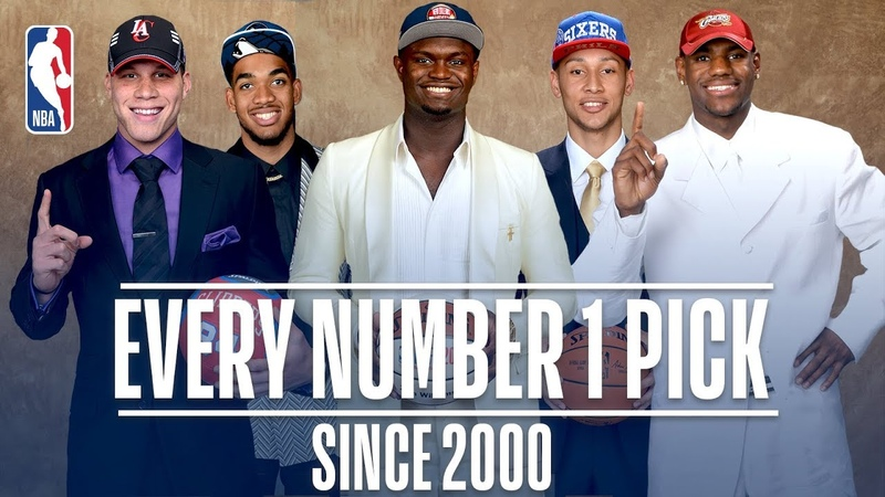 Every Number One Pick Since 2000! | From Kenyon Martin to Zion Williamson NBANews NBA