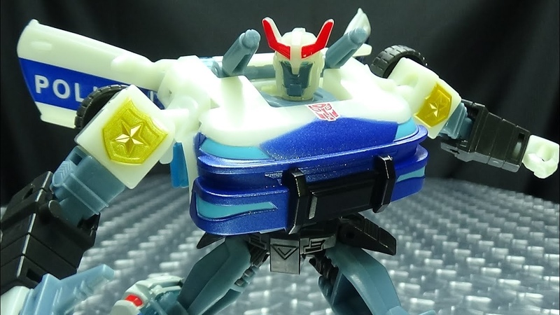 Cyberverse Deluxe PROWL EmGos Transformers Reviews N Stuff
