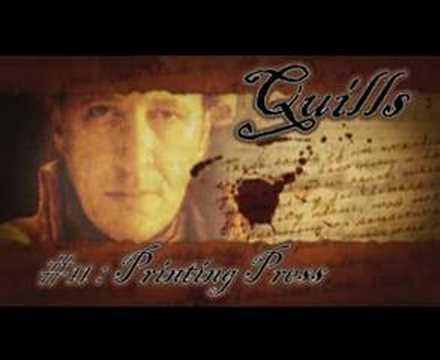 Quills Soundtrack Printing Press