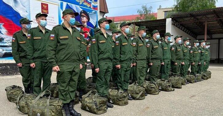 В России начался осенний призыв на армейскую службу