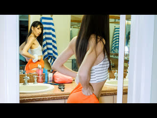 [LIL PRN] Dad Crush - Judy Jolie - Consoled By My Stepdaughter  1080p Brunette, POV, Mom, Step Daughter, Step Father