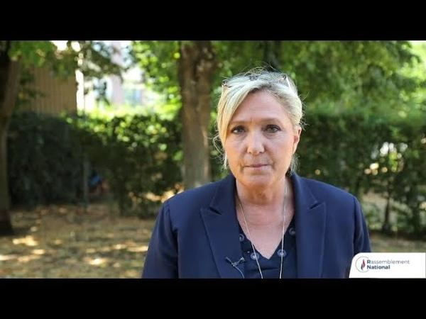 Marine Le Pen dénonce la loi Avia et la restriction des libertés publiques