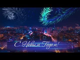Поздравление с Новым годом главы Самары Елены Лапушкиной