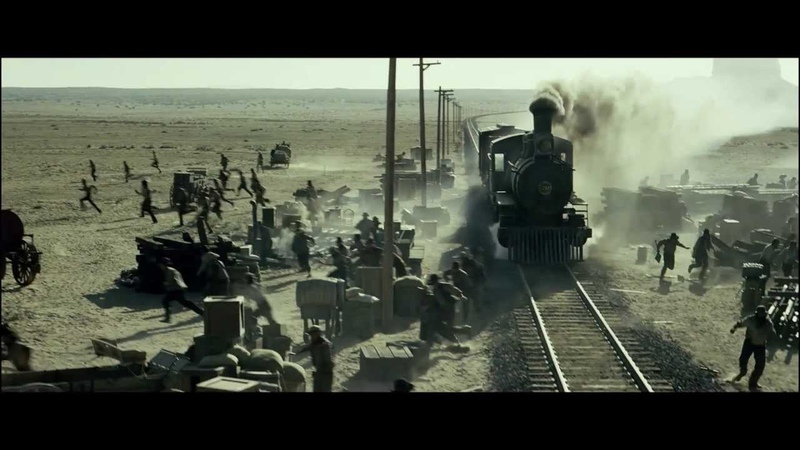 Одинокий рейнджер крушение поезда
